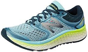 new balance 1080v7. new balance women\u0027s w1080v7 running shoe, ozone blue glow/lime glow, 1080v7 v