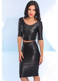 women leather skirts