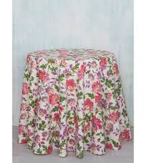 cherry pie cotton round tablecloth april cornell