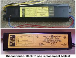 Ballast Replacement Chart Ge 8g1022w Replacement Ballasts