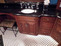 Curved Bathroom Vanity Cabinet Custom Designed Bathrooms And Bath Remodels