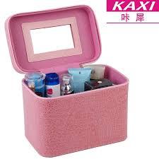 professional makeup case. gunuoyi professional makeup case crocodile pu cosmetics bag portable trave cosmetic 7
