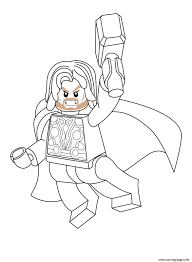 Search through 623,989 free printable colorings. Lego Marvel Thor Coloring Pages Printable