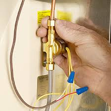 installing a whole house humidifier how to install or repair run line to humidifier enlarge image