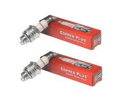Champion Rcj4 2pk Copper Plus Small Engine Spark Plug Stock 893 2 Pack