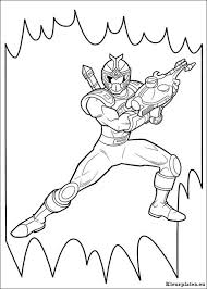 Power Rangers Kleurplaten Kleurplateneu