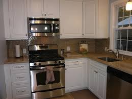 Painting Kitchen Backsplash How To Paint Brick Kitchen Backsplash Kitchen Remodels