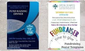 Fundraiser Poster Template Fundraiser Poster Examples Fundraising