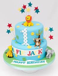 1st First Birthday Boy Safari Google Search 1st Birthday Cakes