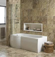 Bathroom Design B&Q cooke & lewis adelphi curved bath screen | departments  | diy ...