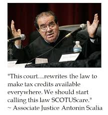 Scalia Quotes Stunning The District Of Calamity Antonin Scalia On SCOTUScare