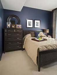 bedroom colors brown and blue. sample navy blue and brown bedroom in an eya townhome washington, dc. colors o