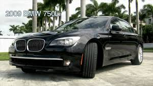 Coupe Series 2010 bmw 750 for sale : 2009 BMW 750Li Black Sapphire Metallic A2509 - YouTube