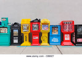 Newspaper Vending Machines Delectable Newspaper Vending Machines Stock Photo 48 Alamy