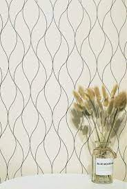 Wave Wallpaper White Contact Paper ...