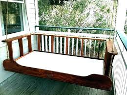 hanging bed frame hanging outdoor bed porch swing beds outdoor bed swing daybed porch swings plans