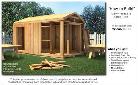 Small Picture Shed Plans Can Have a Variety of Roof Styles Shed Blueprints