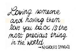 Quotes About Loving Someone Amazing Loving Someone And Having Them Love You You Back Is The Most