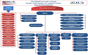 Amc Organizational Chart About Ics The British University In Egypt