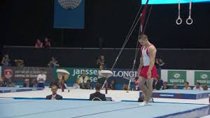 scott morgan floor routine men s qualification 2016 world gymnastics chionships you