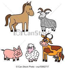 cute farm animals drawings. Modren Farm Set Of Cute Farm Animals For Cute Farm Animals Drawings D