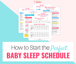 Infant Tracker How To Start The Perfect Baby Sleep Schedule Blunders In