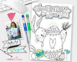 Galactic hot dogs design your own spaceship printable activity. Kids Easter Bunny Coloring Card Printable Bunny Craft Craftykizzy