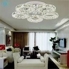 living room led lighting. AC100-240V 40W LED Ceiling Lights Crystal 5 Light Lustres Modern Bedroom Living Room Dining Led Lighting 1