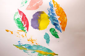 making prints of watercolor paintings how to make leaf prints 8 steps with pictures