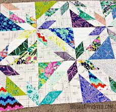 Quilting Tips: Scotchgard Your Fabric, Marking Quilt Lines ... & Fabric Amy Butler Violette Alison Glass Sunprint layer cake scrappy Hunters  Star quilt block Carolyn Friedlander Adamdwight.com