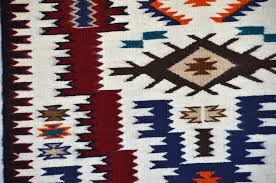 Navajo Pattern Gorgeous Storm Pattern Navajo Weaving Julia Charley 48 Nizhoni Ranch