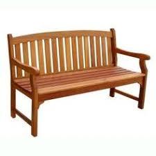 garden benches home depot. Plain Home Vifah Eucalyptus Patio Bench And Garden Benches Home Depot R