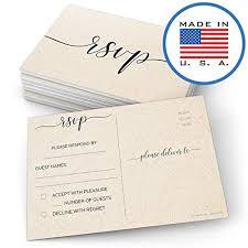 Response Cards For Weddings Rsvp Cards Wedding Amazon Com