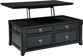 black coffee table with drawers black storage coffee table with lift top black coffee table drawers