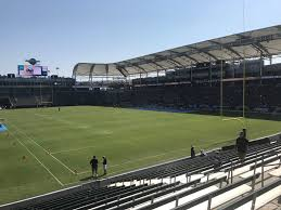 La Chargers Seating Chart Dignity Health Sports Park Section 124 Los Angeles