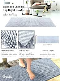 machine washable non slip hall runner rugs and runners bathroom large size of kitchen cotton runn