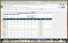 Time Sheet Doc Monthly Timesheet Template Doc 555