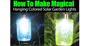 DIY Solar Lights For Outdoor Yard Parties With Antique Floor LampSolar Lighting For Gardens