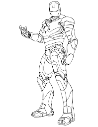 How to draw iron man, step by step, drawing guide, by dawn. Free Printable Ironman Coloring Pages Coloring Home