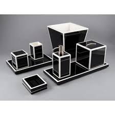 black and white bathroom accessories. Brilliant Black Black And White Bathroom Accessories House Decorations With Prepare 9 I