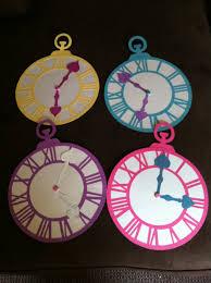Alice In Wonderland Decorations Alice In Wonderland Party Clock Decor Parties Pinterest
