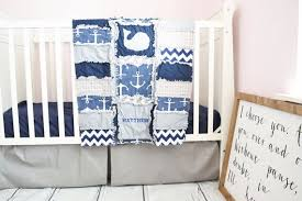 nautical crib bedding set for baby boy
