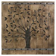 about this item on wall art wooden tree with aurora wood plank tree decorative wall art target