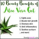 aloe vera gel benefits