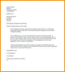 Template For Official Letter Nstv Me