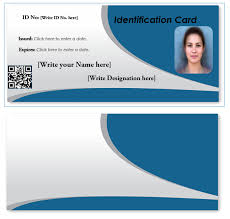 Id Card About Template Horizontal Word Undergraduate 89 Positions Resume Any