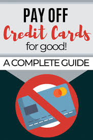 Taking out a personal loan to pay off credit card debt is an alternative that could save you money over time. Pay Off Credit Card Debt For Good A Complete Guide