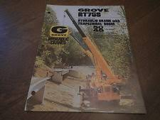 grove manual grove rt75s crane boom dealership brochure guide specs manual