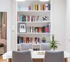 mieszkanie w warszawie jadalnia styl nowoczesny zdjęcie od wz studio books shelvs