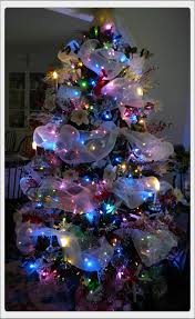 Collection Christmas Trees With Colored Lights Decorating Ideas Images Of